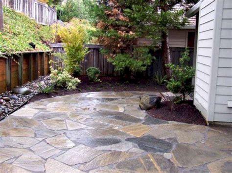 Laid Flagstone Patio by Laid Flagstone Patio With Broken Concrete Fres Hoom