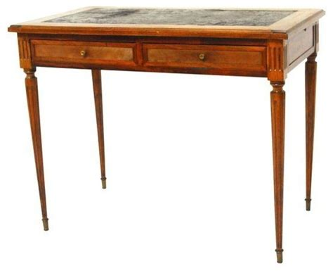 Desk Styles Traditional by Pre Owned Federal Style Leather Top Writing Desk