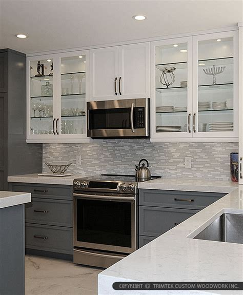 quartz backsplash modern white marble glass kitchen backsplash tile
