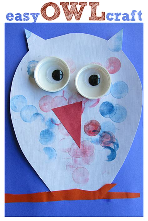 easy owl crafts for easy owl craft for