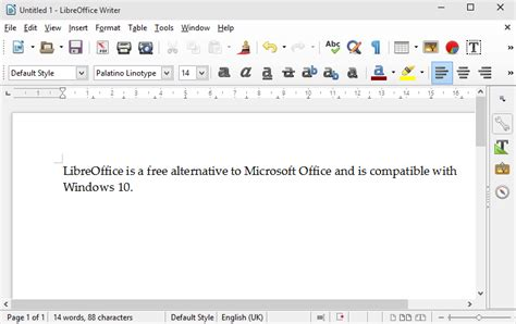 Windows Microsoft Office Libreoffice For Windows 10