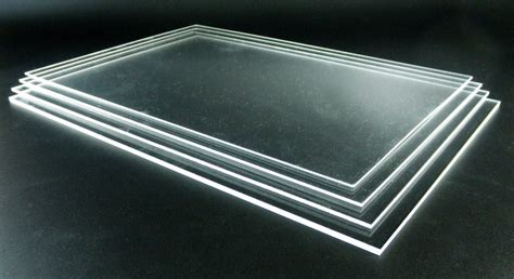 Acrylic Sheets acrylic sheet plexiglass perspex clear plastic thickness