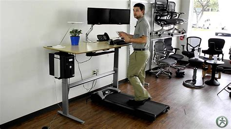 Sit Stand Treadmill Desk Sit And Stand Treadmill Desk Review And Photo