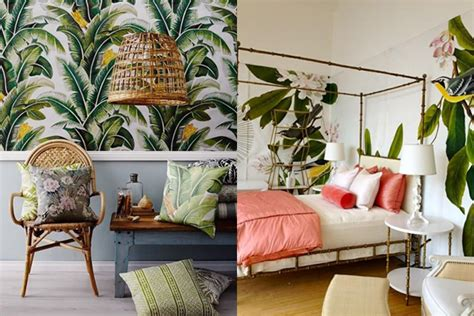 Home Interiors Decorations inspiration d 233 co int 233 rieur ambiance tropical
