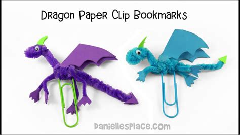 How To Make A Paper Clip Bookmark - paper clip bookmark craft
