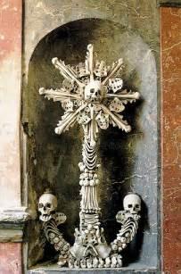 Chandelier Made Of Human Bones Sedlec Ossuary Craniophiles