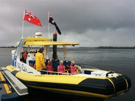 jet boat port macquarie the rain didn t stop the fun with port macquarie surf club
