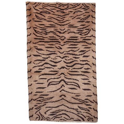 tibetan rugs tiger tibetan rug at 1stdibs