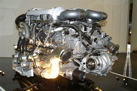 Bugati Engine by Bugatti Veyron Engine