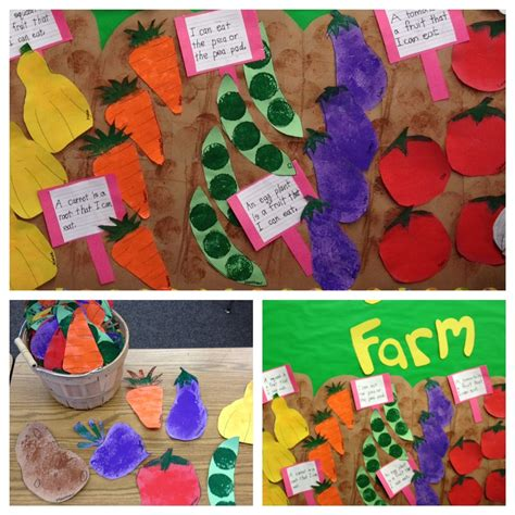 garden crafts for preschoolers vegetable and gardening unit apples and abc s