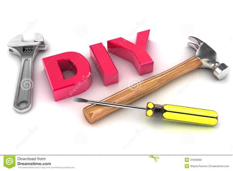 Home Improvement Design Tool by Diy Concept Royalty Free Stock Images Image 31669069