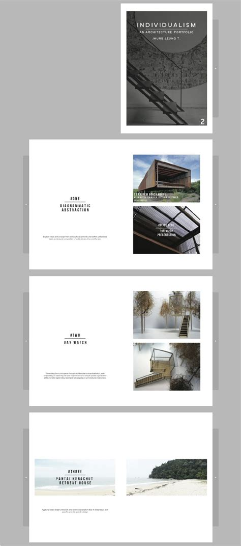 book design and layout portfolio the 25 best architecture portfolio layout trending ideas