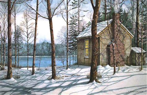 of walden on walden pond nicholas santoleri realism artist