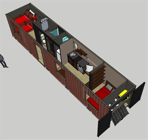 Tiny House Colorado by Casa En Un Contenedor High Cube De 40 Pies De Largo