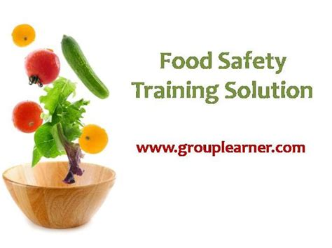 Food Safety Training Solution Authorstream Food Safety Powerpoint Template
