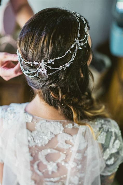 Boho Hairstyles Accessories by Wedding Accessories 20 Charming Bridal Headpieces To Match