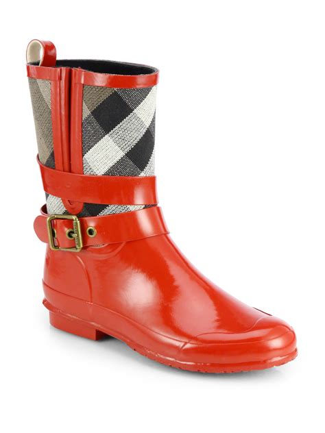burberry boots sale burberry halloway check boots in bright