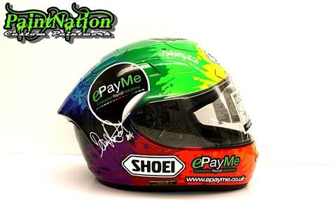 Helmet Shoei Dan Arai dan linfoot s 2015 bsb shoei x spirit 2 helmet replica race helmets