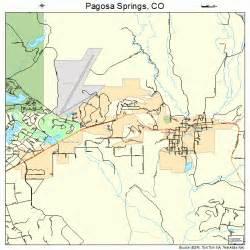 springs colorado map pagosa springs colorado map 0856860