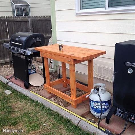 diy outdoor food prep 34 best images about workbench plans on pinterest the