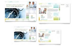 professional services postcards templates designs