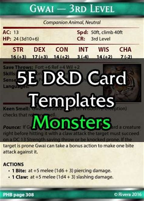 drive thru rpg card template tintagel s 5e card template creative gremlins