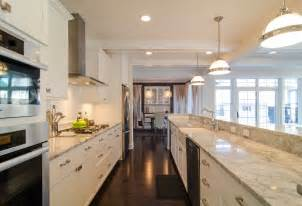 Galley Kitchen Designs With Island by Galley Kitchen With Island Layout 847