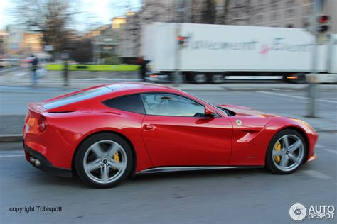 Ferrari Shop M Nchen by Ferrari F12berlinetta 6 Mrz 2013 Autogespot
