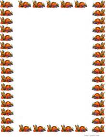 happy thanksgiving border paper stationery gclipart
