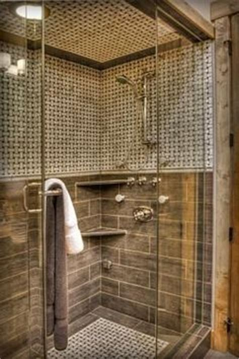 using wood look ceramic tile as trim bathroom designs classic shower tile ideas small window