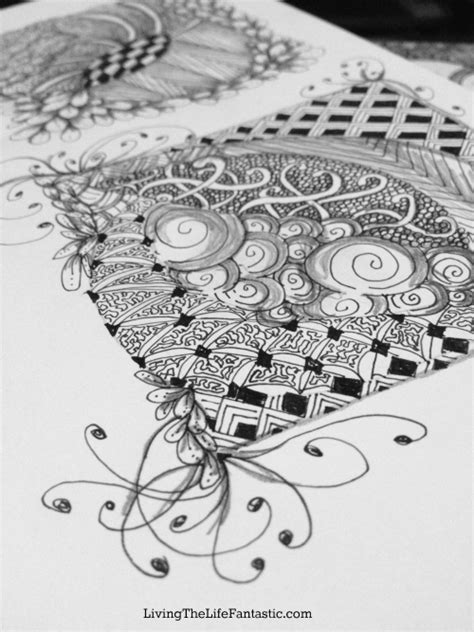 how to do a zendoodle what is zentangle 174 and zendoodle