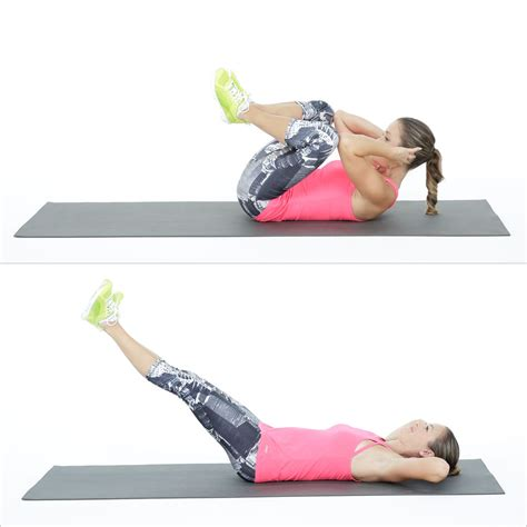 tone your lower belly with a new crunch exercise crunches lower abs and lower belly