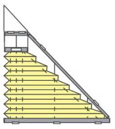 jalousie eckfenster plissee faltstores f 252 r fenster in sonderformen sundiscount
