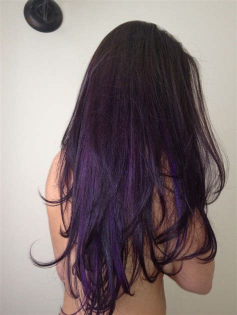 dark purple l shade dark brown ombre hair hd purple ombre hair hair