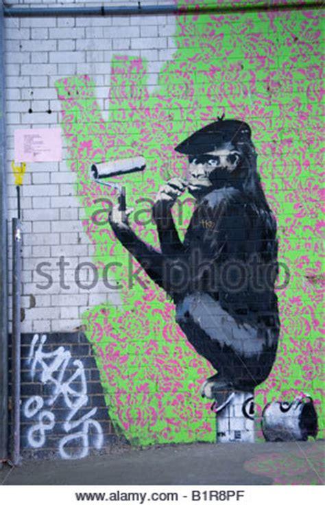 banksy british graffiti artist waterloo london uk europe