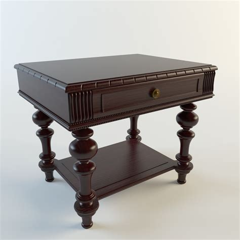 Classic Coffee Table Classic Coffee Table 3d Model Max Cgtrader