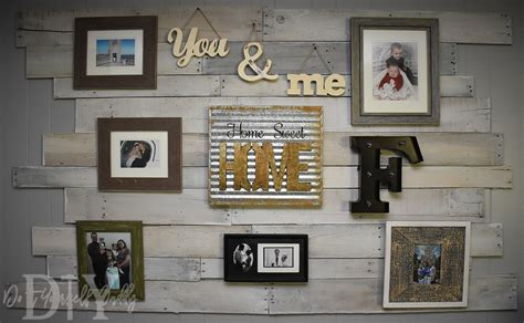 picture of diy attic wall pallet decor diy project turn pallets into decorative wall decor do