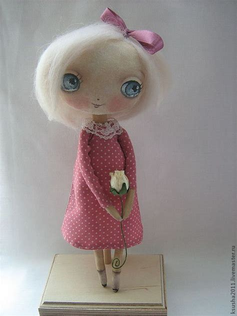 How To Make A Handmade Doll - handmade dolls by oksana dadiani