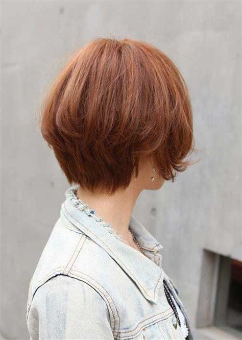Short Haircuts For Thick Hair Back View | 40 beautiful short hairstyles for thick hair