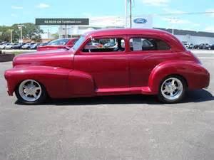 1948 chevrolet fleetline custom 2 door sedan 396 automatic