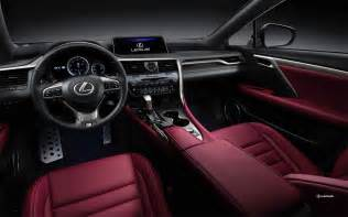 lexus interior colors lexus rx f sport interior