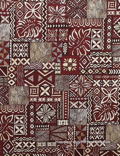 tattoo fabric fabric tribal tapa patterns block design