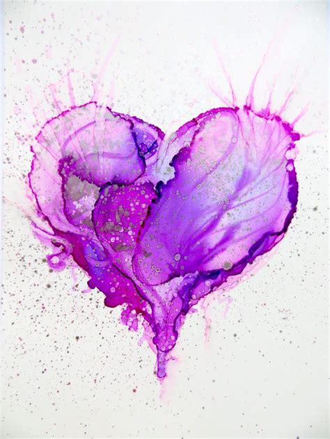 purple heart tattoo designs best 25 watercolor ideas only on human