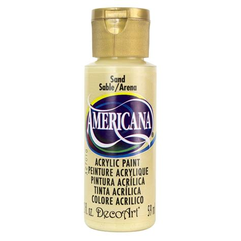 decoart americana 2 oz sand acrylic paint dao4 3 the home depot