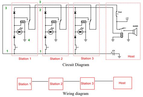 pcb layout quiz game show buzzer circuit schematic game circuits