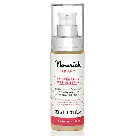 Serum Nourish Skin nourish radiance rejuvenating peptide serum for normal skin