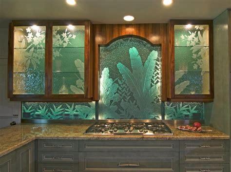 glass backsplash for kitchen glass backsplash for kitchen with leaf motif decolover net