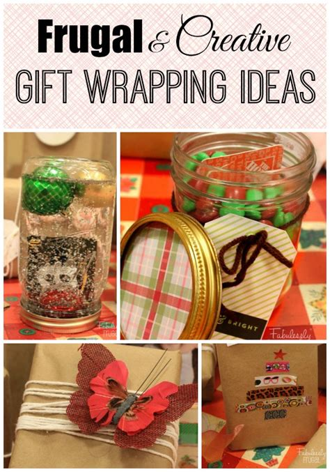 Unique Gift Card Wrapping Ideas - frugal and creative gift wrapping ideas fabulessly frugal