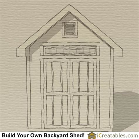 How To Build A Gable Roof Shed by How To Build A Shed Roof Rafters Icreatables