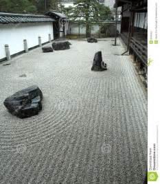 Japanese Rock Garden History Rock Garden In Kyoto Japan Stock Photography Image 2024482
